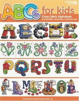 ABC's for Kids Cross Stitch Alphabets (Leisure Arts #4081) 1601404298 Book Cover