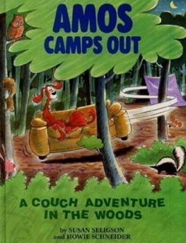 Amos Camps Out: A Couch Adventure in the Woods 0316774022 Book Cover