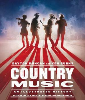 Hardcover Country Music: An Illustrated History Book