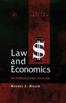 Law and Economics, Third Edition: An Introductory Analysis 0123494818 Book Cover