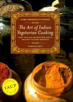 Hardcover Lord Krishna's Cuisine : The Art of Indian Vegetarian Cooking Book