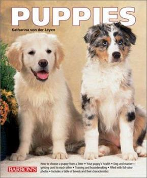Puppies 0764116010 Book Cover