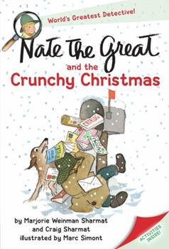 Nate The Great And The Crunchy Christmas 0440412994 Book Cover