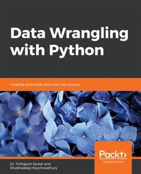 Paperback Data Wrangling with Python Book