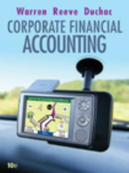 Paperback Corporate Financial Accounting Book