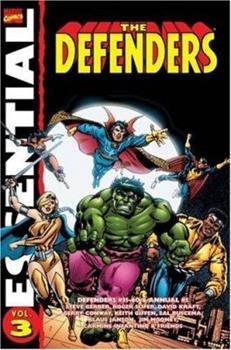 Essential Defenders, Vol. 3 TPB - Book  of the Essential Marvel