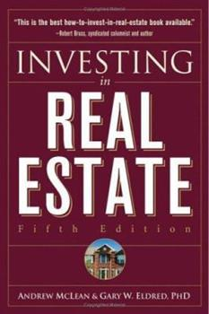 Investing in Real Estate 047132339X Book Cover