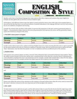 Paperback English Composition & Style Book