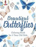 Beautiful Butterflies: Coloring Book for 3 Year Old Girls 0228205018 Book Cover