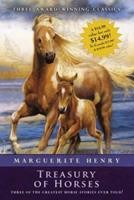 Marguerite Henry Treasury of Horses (Boxed Set): Misty of Chincoteague, Justin Morgan Had a Horse, King of the Wind 1416939547 Book Cover