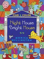 Night House Bright House Find  Color 0486491625 Book Cover