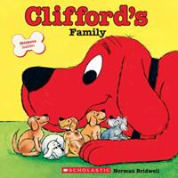 Clifford's Family (Read with Clifford) 0590442902 Book Cover