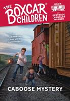 Caboose Mystery 0590426818 Book Cover