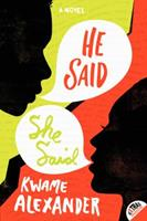 He Said, She Said 0062118986 Book Cover