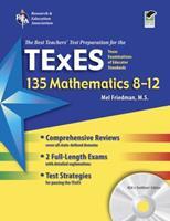 Texas TExES 135 Mathematics 8-12 w/CD-ROM 0738606472 Book Cover