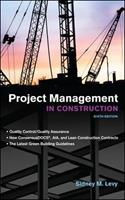 Project management in construction 0070374694 Book Cover