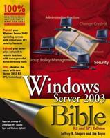 Windows Server 2003 Bible 0764549375 Book Cover