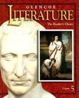 Glencoe Literature: The Reader's Choice : Course 5 0026354128 Book Cover