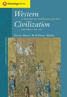 Cengage Advantage Books: Western Civilization: A History of European Society, Compact Edition, Volume I 0534621651 Book Cover