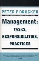Management: Tasks, Responsibilities, Practices 0330256386 Book Cover