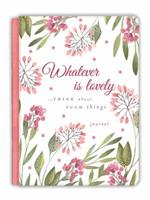 Whatever Is Lovely Gratitude Journal 1633261549 Book Cover