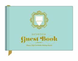 Knock Knock Bathroom Guest Book 1601064527 Book Cover