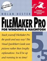 FileMaker Pro 5.5 for Windows & Macintosh Visual QuickStart Guide 0201773201 Book Cover