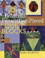 Beautiful Foundation-Pieced Quilt Blocks 0806937971 Book Cover