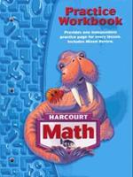 Harcourt Math 3: Practice Workbook 0153364750 Book Cover