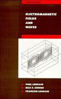 Electromagnetic Fields and Waves: Including Electric Circuits (Physics Series) 0716703319 Book Cover