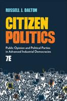 Citizen Politics: Public Opinion and Political Parties in Advanced Industrial Democracies 154435178X Book Cover