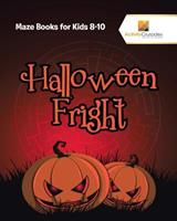 Halloween Fright: Maze Books for Kids 8-10 0228221501 Book Cover