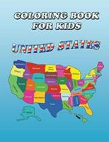 Coloring Book for Kids: United States: Kids Coloring Book 1632870452 Book Cover