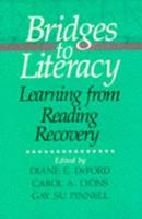 Bridges to Literacy: Learning from Reading Recovery 0435085751 Book Cover