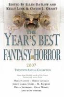 The Year's Best Fantasy and Horror: 20th Annual Collection 0312369433 Book Cover