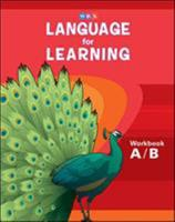 Language for Learning, Workbook A & B 0076094286 Book Cover