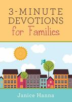 3-Minute Devotions for Families 1630588555 Book Cover