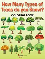 How Many Types of Trees Do You Know? Coloring Book 1683214900 Book Cover