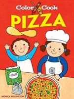 Color  Cook PIZZA 0486471144 Book Cover