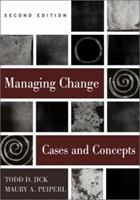 Managing Change: Cases and Concepts 0256264589 Book Cover