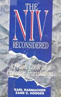 The NIV Reconsidered : A Fresh Look at a Popular Translation 0960757694 Book Cover