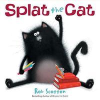 Splat the Cat 0545201292 Book Cover