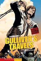 Jonathan Swift's Gulliver's Travels (Graphic Revolve (Graphic Novels)) 1434204995 Book Cover