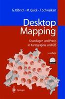 Desktop Mapping: Grundlagen und Praxis in Kartographie und GIS 3540648909 Book Cover