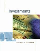 Investments (with Thomson ONE - Business School Edition) 0030339294 Book Cover
