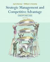 Strategic Management and Competitive Advantage: Concepts and Cases 013154716X Book Cover