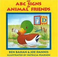 My ABC Signs of Animal Friends 0915035316 Book Cover