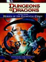 Player's Option: Heroes of the Elemental Chaos: A 4th Edition Dungeons & Dragons Rulebook 0786959819 Book Cover