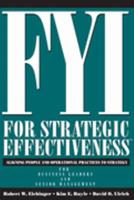 FYI for Strategic Effectiveness: Aligning People and Operational Practices to Strategy 1933578068 Book Cover