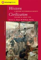 Western Civilization: A History of European Society, Volume II, Compact Edition 053462166X Book Cover